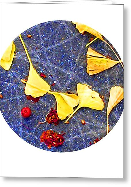 Sacred Geometry Greeting Cards - Red Yellow Blue Greeting Card by Sacred Geometry