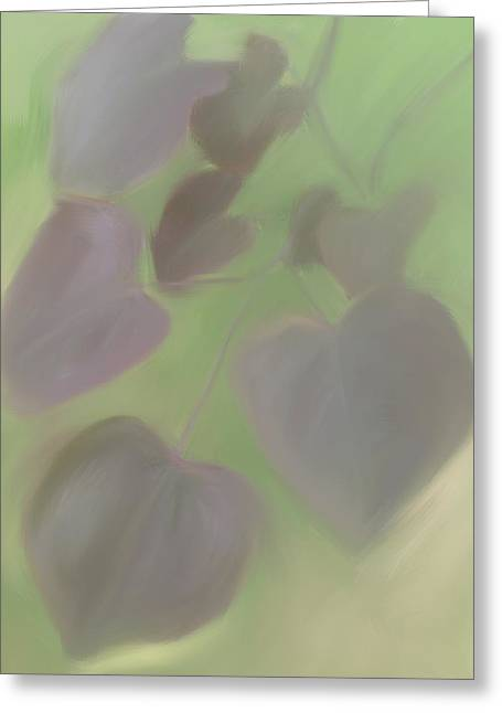 Cercis Greeting Cards - Redbud Spring II  Greeting Card by Heidi Smith