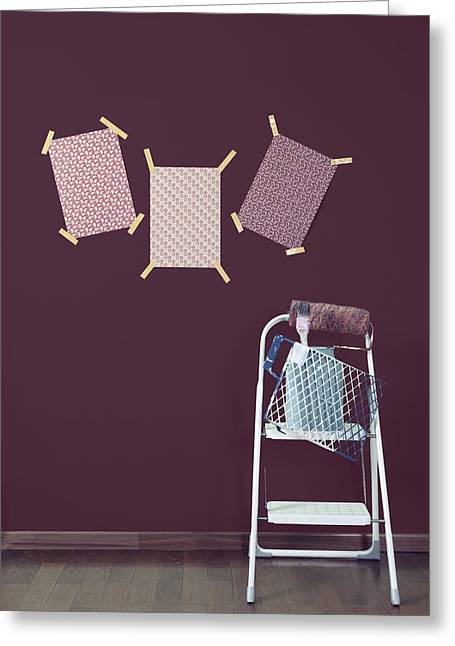 Grate Greeting Cards - Redecoration Greeting Card by Joana Kruse