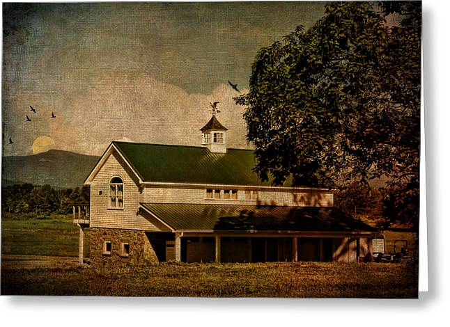 Duchess Greeting Cards - Redhook Farm Greeting Card by Pamela Phelps