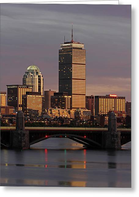 Boston Photos Greeting Cards - Redline Greeting Card by Juergen Roth