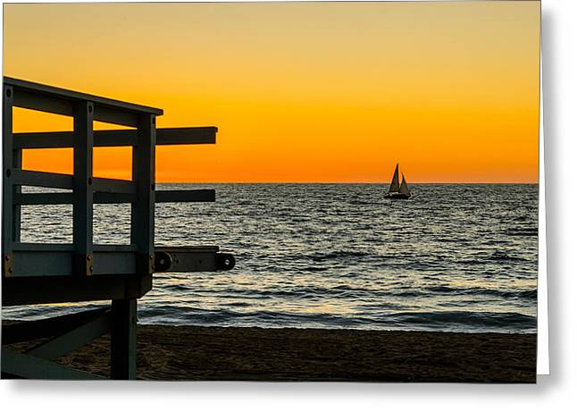 John Kennedy Greeting Cards - Redondo Beach Sunset II Greeting Card by John Kennedy