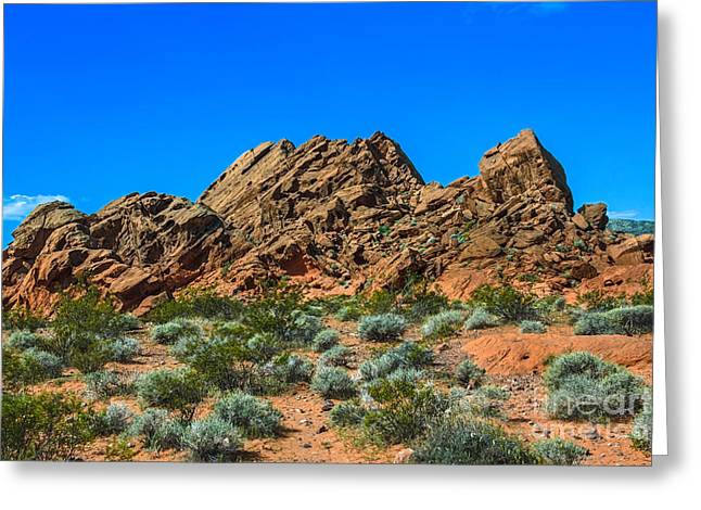 Redstone Beauty Greeting Card by Robert Bales