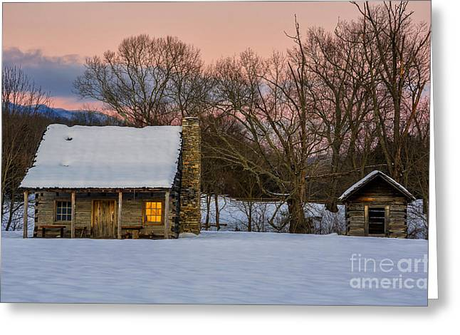 Ewing Greeting Cards - Reflected Warmth Greeting Card by Anthony Heflin