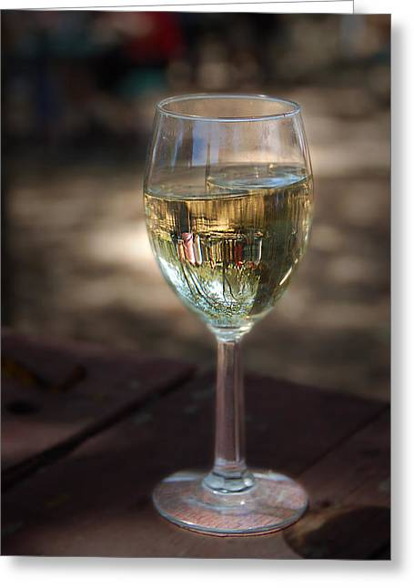 Alexander Valley Greeting Cards - Reflecting  Greeting Card by Patricia Dennis