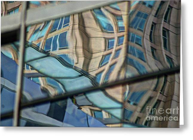 Reflection 15 Greeting Card by Jim Wright