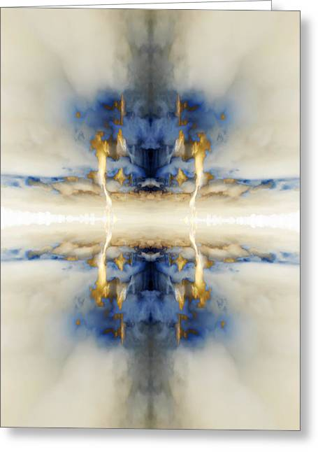 Reflection 3 Greeting Card by Steve Ball
