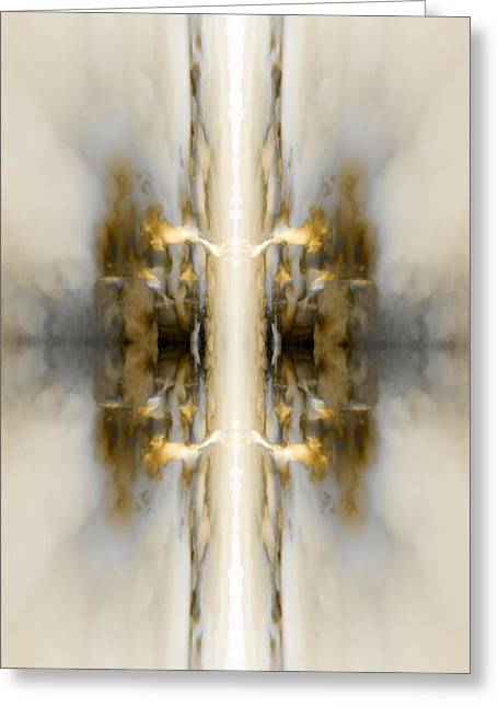 Reflection 4 Greeting Card by Steve Ball