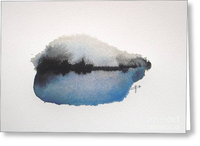 Reflection In The Lake Greeting Card by Vesna Antic