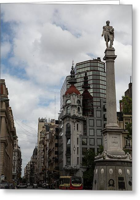 Buenos Aires Art Greeting Cards - Reflection Greeting Card by John Daly