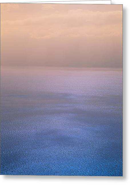 Lake Geneva Greeting Cards - Reflection Of Clouds On Water, Lake Greeting Card by Panoramic Images