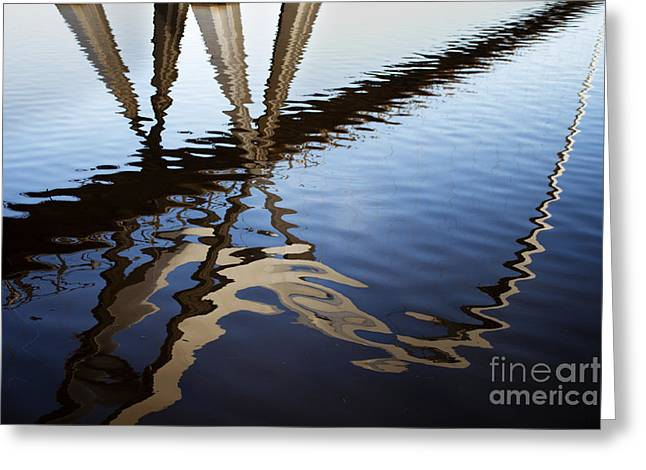 Stockton Greeting Cards - Reflection of Infinity Greeting Card by Neil Hindle