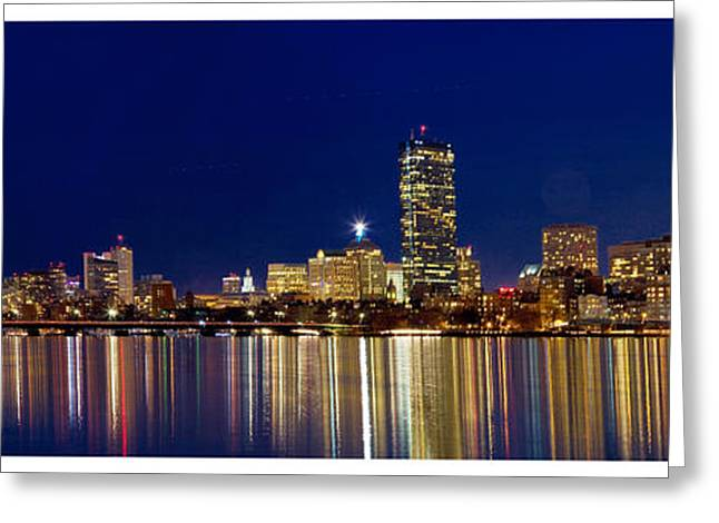 Charles River Pyrography Greeting Cards - Reflection Greeting Card by Raffi Zoubouian