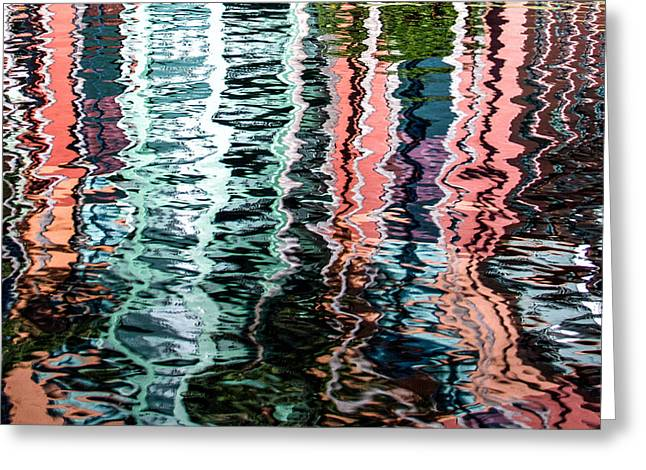 Subtle Colors Greeting Cards - Reflection Greeting Card by Rob Weisman