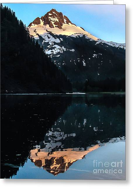 Southeast Alaska Greeting Cards - Reflection Greeting Card by Robert Bales