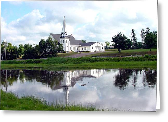 Zelma Hensel Greeting Cards - Reflection Greeting Card by Zelma Hensel