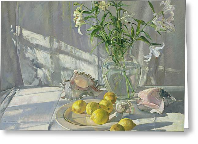 Reflections and Shadows  Greeting Card by Timothy  Easton