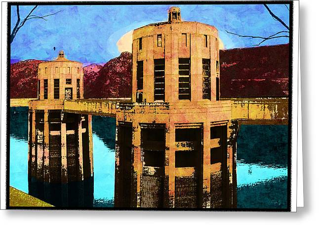 Hoover Dam Greeting Cards - Reflections At Hoover Dam Greeting Card by Glenn McCarthy Art and Photography