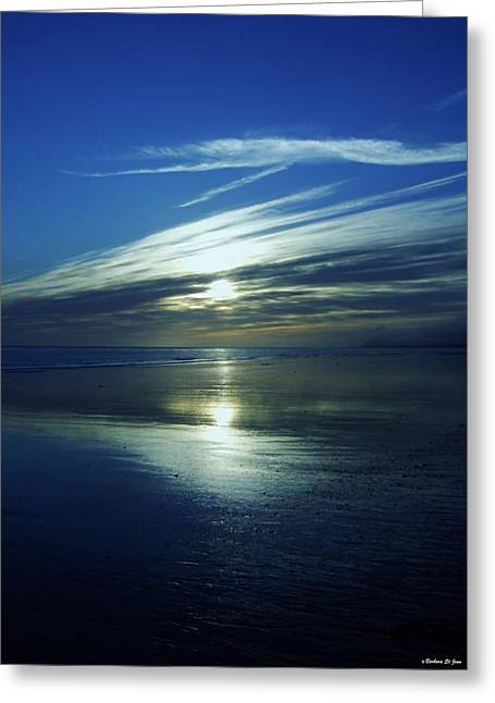 Saint Jean Art Gallery Greeting Cards - Reflections Greeting Card by Barbara St Jean