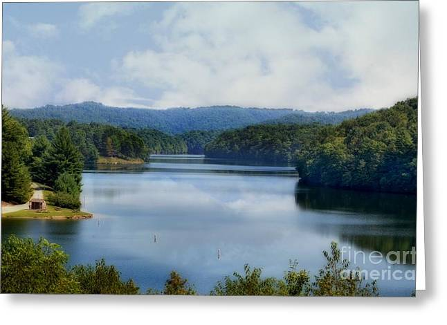 Reflections Greeting Card by Brenda Bostic