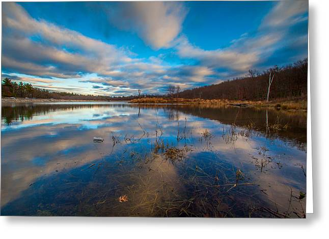 Boston Ma Greeting Cards - Reflections Greeting Card by Brian MacLean
