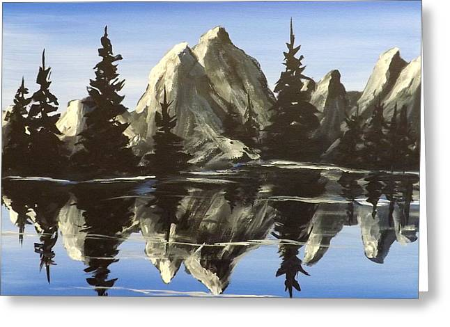 Darren Greeting Cards - Reflections Greeting Card by Darren Robinson