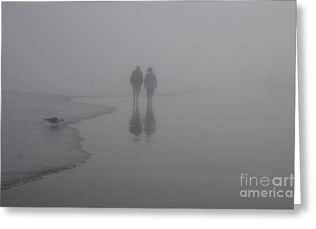 Faa Featured Work Greeting Cards - Reflections in the Fog Greeting Card by Zori Minkova