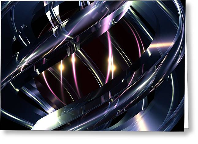 Digital_art Greeting Cards - Reflections Greeting Card by Louis Ferreira