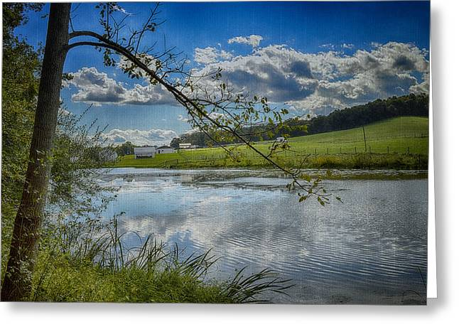 Kathy Jennings Photographs Greeting Cards - Reflections Of A Beautiful Day Greeting Card by Kathy Jennings