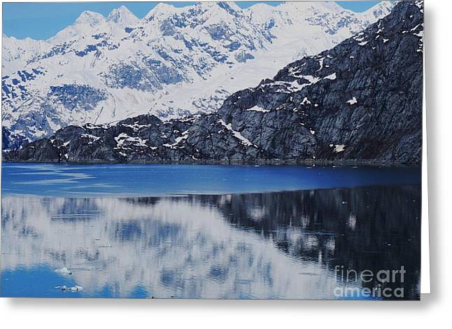 Alaskan Canvas Art Prints Greeting Cards - Reflections Of Alaska 3  Greeting Card by Marcus Dagan