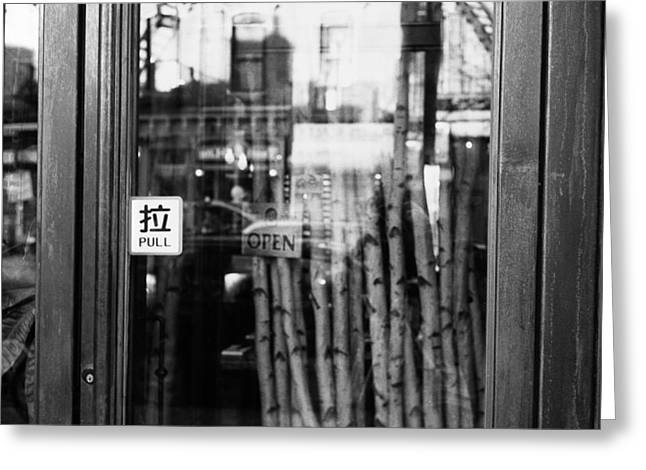 Bamboo House Greeting Cards - Reflections of Brooklyn - Lovesongs of New York Greeting Card by Feanare