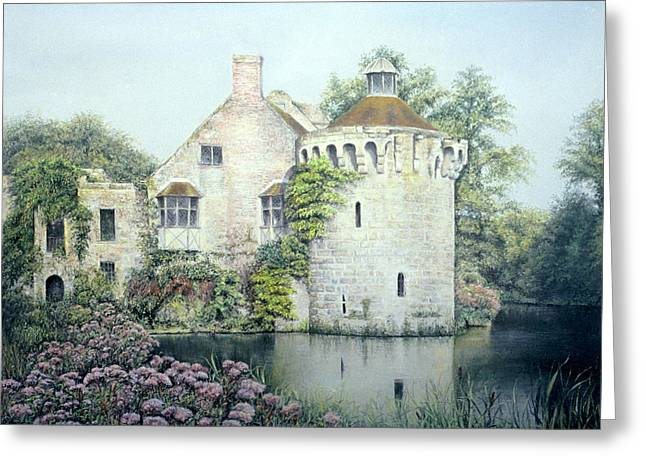 Historical Buildings Pastels Greeting Cards - Reflections of England Greeting Card by Rosemary Colyer