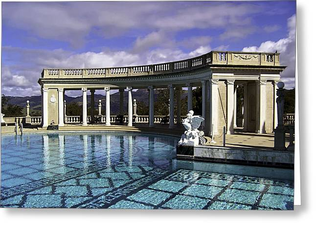 San Simeon Greeting Cards - Reflections of Glory Greeting Card by Camille Lopez