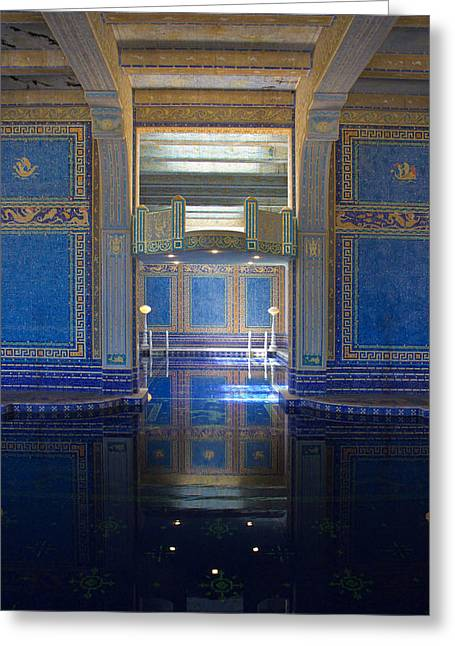 William Randolph Greeting Cards - Reflections Of Opulence Greeting Card by Heidi Smith