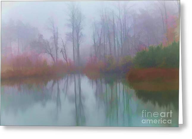 Photographers Greensboro Greeting Cards - Reflections of Serenity Greeting Card by Dan Carmichael