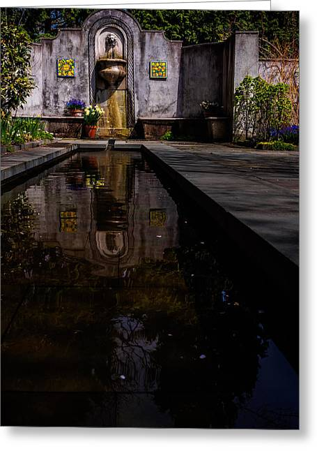 Chanticleer Greeting Cards - Reflections of the Mind Greeting Card by Louis Dallara