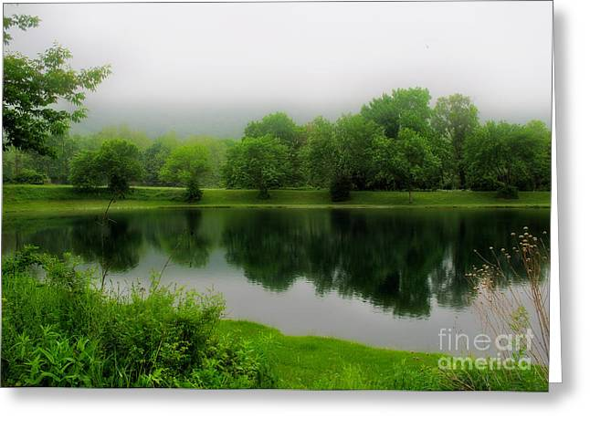 Lord Of The Rings Photographs Greeting Cards - Reflections of the Shire Greeting Card by Mark Miller
