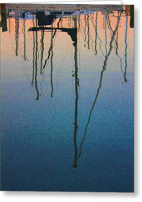 St Petersburg Florida Greeting Cards - Reflections Greeting Card by Robin Lewis
