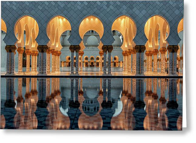 Reflections Greeting Card by Stefan Schilbe