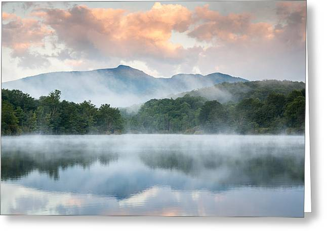 Western North Carolina Greeting Cards - Reflective Elder Greeting Card by Mark VanDyke