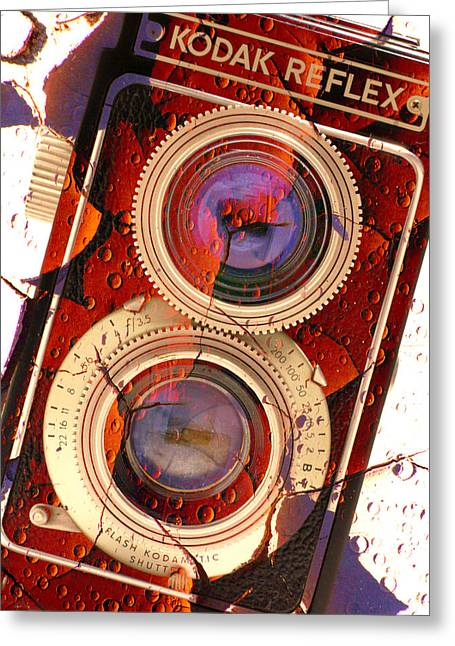 Reflex Greeting Cards - Kodak Reflex II Greeting Card by Mike McGlothlen