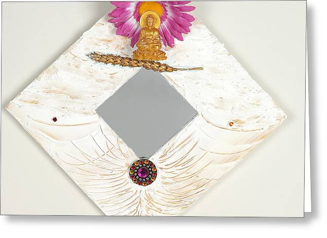 Magical Reliefs Greeting Cards - Refreshing calm Greeting Card by Heidi Sieber