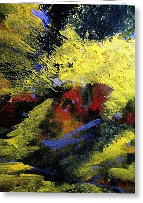 Psychiatry Paintings Greeting Cards - Regal Cloak Of Vanity  Greeting Card by Paula Andrea Pyle