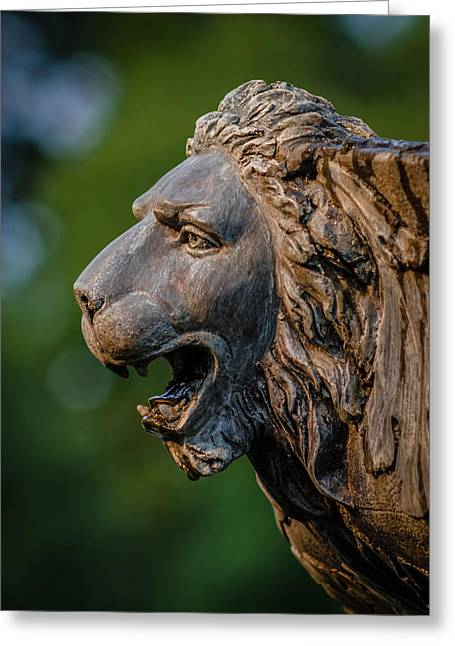 James Barber Greeting Cards - Regal Greeting Card by James Barber