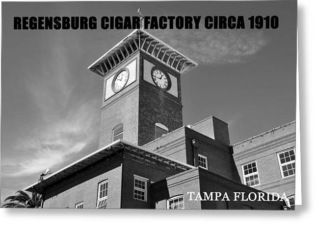 Cigar Factory Greeting Cards - Regensburg Cigar Factory BW work Greeting Card by David Lee Thompson