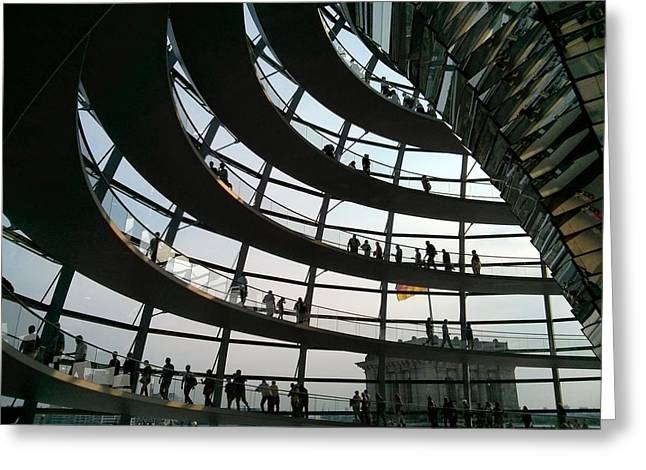 Berlin Germany Greeting Cards - Reichstag Architecture Greeting Card by Mountain Dreams