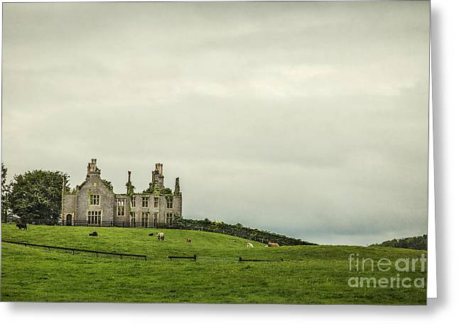Ireland Photographs Greeting Cards - Reign Over Me Greeting Card by Evelina Kremsdorf