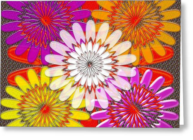 Diy Wedding Flowers Greeting Cards - Reiki Masters Intuitive Chakra Art Background Designs  and Color Tones n Color Shades available for  Greeting Card by Navin Joshi