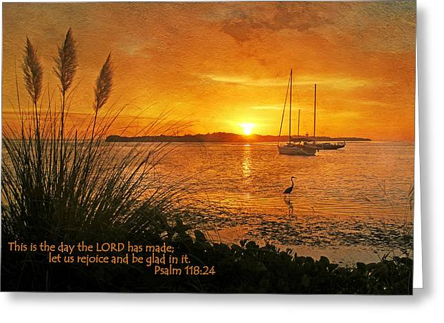 Testament Greeting Cards - Rejoice And Be Glad Greeting Card by HH Photography
