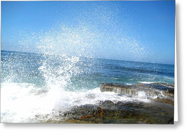 Tidal Photographs Greeting Cards - Rejoice In Glory Greeting Card by Melissa McCrann
